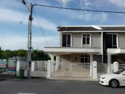 For Sale Double Storey Cluster Corner Lot Taman Camelia, Bandar Perda