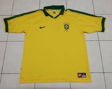 Brazil 9798 home jersey