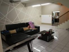[Below market price] double storey bayu perdana well maintenance