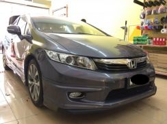 Honda civic fb 2012 to 2015 mugen bodykit with cat