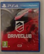 Sony PS4 Disc Game Driveclub