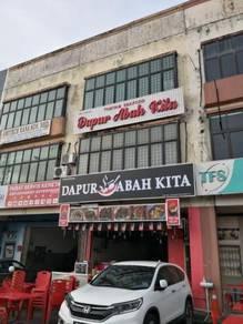 Perling/Shop (3-Storey) At Jalan Baiduri 1, Tmn Baiduri (UF) For Sale