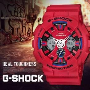 [Ori] Exclusive GShock Merah GA-120TR-4ADR
