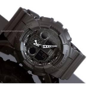 [Ori] GShock Black Panther GA-100-1A1