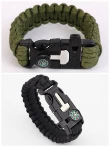 Survival paracord bracelet 08