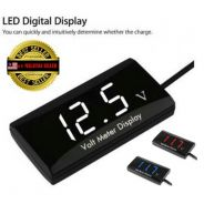 Dnd voltage meter display 12v for car motorcycle