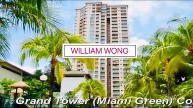 CHEAPEST ! Miami Green 5 Star Resort Batu Ferringhi 1100sf BEST BUY