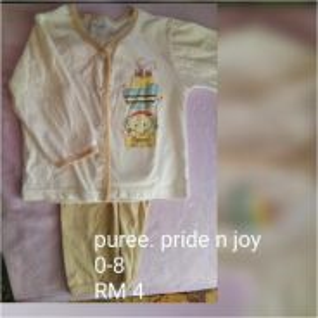 Preloved pakaian bayi lelaki & unisex
