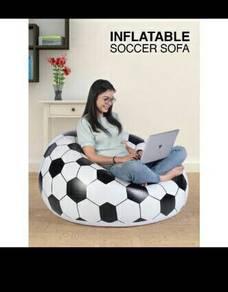 Sofa bola  inflatable soccer sofa