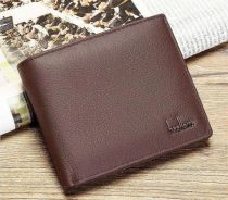 Baellery Genuine Cow Leather Men's Wallet
