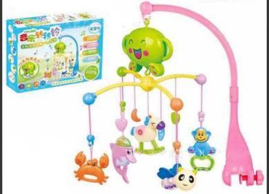 Mainan bayi berpusing dengan 50 lagu-Terbaru