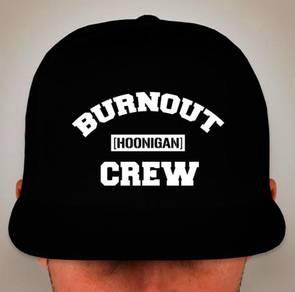 Hoonigan Burnout Crew Snapback Cap