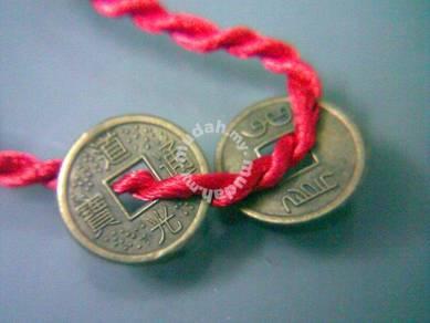 ABBP-C002 Plastic Old Coins Pendant 13mm Bracelet
