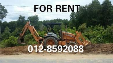Backhoe KK Tuaran Penampang for rental