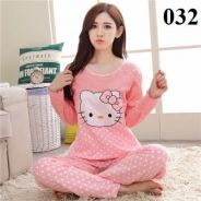100% Authentic Cotton Ladies Pyjamas - 032