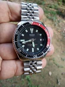 Seiko Diver 7002 Pepsi Clear Stock