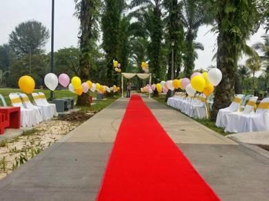 695) walkway balloon weddding