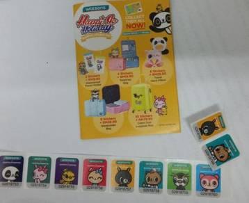 Watson (Happi Playground) 10 stickers