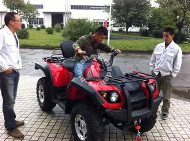 NEW ATV MOTOR 400cc 4x4 orange/red