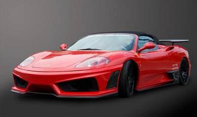 Ferrari f430 super veloce racing conversion