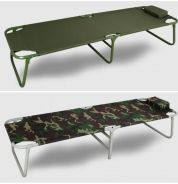 Portable foldable camping bed