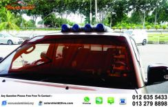 Roof Sport Light White and Blue Universal