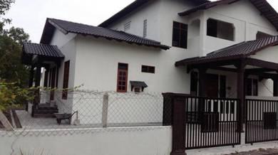 Rumah Semi-D baru siap, Kuala Terengganu
