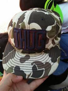Camo snapback topi cap