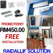 Access door free installation promotion