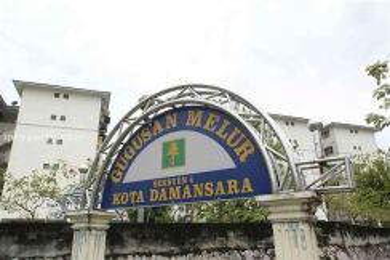 Gugusan melur (3rd floor) near mrt at kota damansara - (for rent)