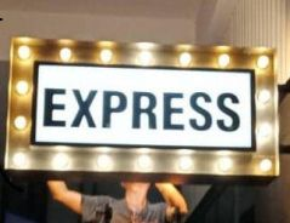 Signboard Led Light Box Acrylic 3D Logo Lettering