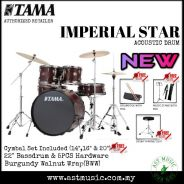 Tama Imperial Star IP52KH6 Drum With Cymbals-BWW