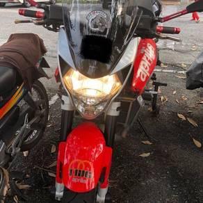 2011 Aprilia Shiver 750 Akrapovic sport touring