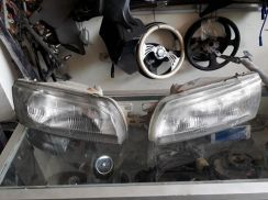 Head Lamp Lampu Depan Evo 3 for Wira