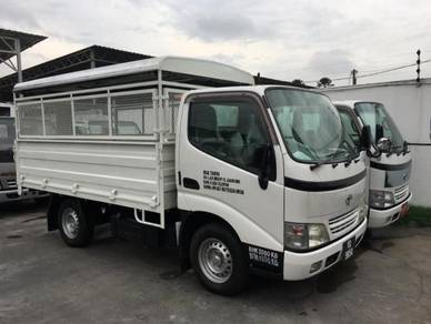 Toyota Dyna Steel Body/Aluminium Top Rebuild 2018