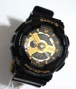 Watch - Casio BABY G BA110-1 BLACK GOLD - ORIGINAL