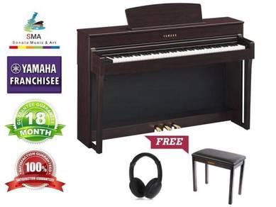 Yamaha Digital Piano Clavinova CLP635 Rosewood