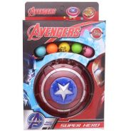 Captain America Marble Shooter with 5 Colors