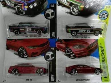 Hotwheels BMW lot