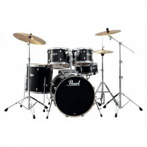 Pearl Export EXX725P/C 5pc Drum Set (Jet Black)