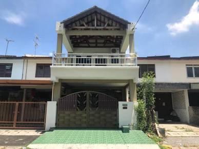 Double Storey Terrace Taman Cahaya Bercham, Ipoh, Perak