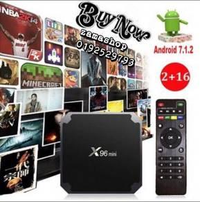 New X96 mini TV ANDROID BOX 2G/16G