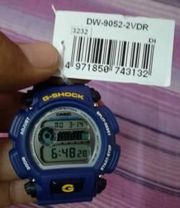 Original g shock blue navy g 9052