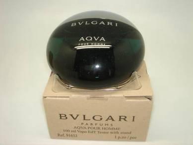 Perfumes tester ori blvgari aqva 100ml