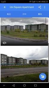 Uni square apartment for rent(opposite unimas)
