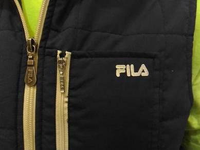 Fila Sleeveless Jacket , fit size M~L(RoadRun)