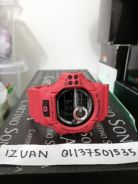 Gshock g shock Gdf100 gdf 100 red