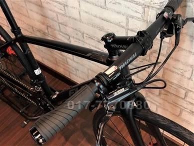 FUJI 1.3D 700C HYBRID 18S TOURING Bicycle BIKE
