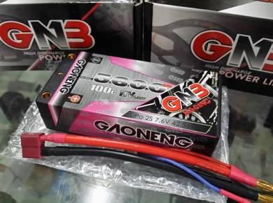 GNB 7.6V 2S 5600mAh 100C Shorty LiHV Lipo Battery
