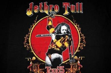 T Shirt JETHRO TULL - Tour 75 [L] NEW